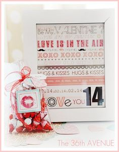 Free Valentine's Day Printable Decor... by Paisley Petal Events