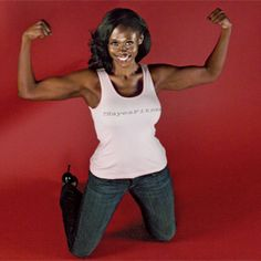 The best way to lose weight for Taisha Juanita Hayes was dedicating 30 minutes a day to her fitness videos