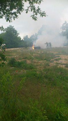 Entraînement pompiers