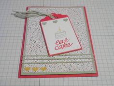 I am so excited to have gotten One Tag Fits All at the Stampin' Up Occasions catalog kick-off :) I ordered the matching punch with my pre-order, which is set to arrive on Thursday. I couldn't wait,...