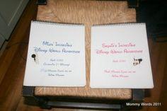 DIY: Disney Autograph Book