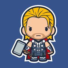 Thor Drawing Superheroes, Marvel Drawings, Cartoon Drawings, Cute Drawings, Avengers Cartoon, Marvel Cartoons, Marvel Comics, Chibi Marvel, Marvel Heroes