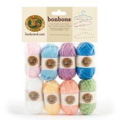 "8 bébés pelotes ""Bonbons"" - couleurs assorties"