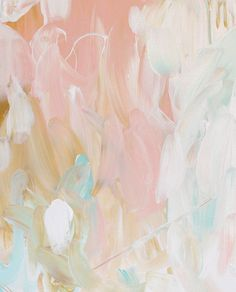 pretty abstract art, blush & gold / desktop wallpaper via @bri emery / designlovefest