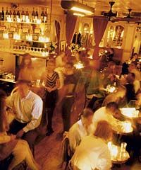 Bar 6, French-Moroccan bistro, 502 Sixth Ave