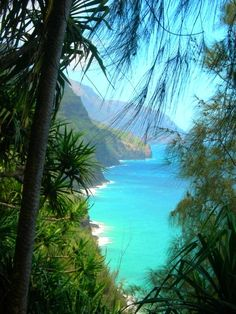 Napali Coast, Kauai, Hawaii-I have stood in this exact spot so many times