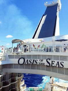 Take a short trip on the zip. Located 9 decks high, the zip-line on Oasis of the Seas is 82 feet long.