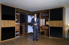 sliderobes fitted sliding wardrobe doors black glass light wood
