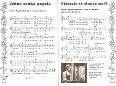 Písníčky Music Page, Sheet Music, Google, Kids, Photograph Album, Children, Music Sheets, Baby Boys, Child