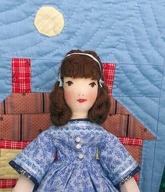 Beth, an Edith Flack Ackley doll, up close | Handmade by me:… | Flickr