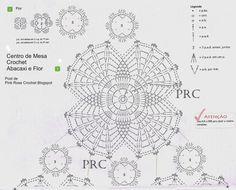 Centro+de+Mesa+Crochet+Abacaxi+e+Flor+gr1.jpg (1000×807)