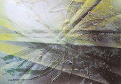 ESTIVAL 057 11 'Abstraction'  série peinture acrylique  2015 ( 21 x  29,7 cm ) 160 grs