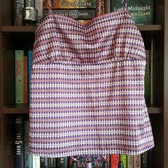 New York and Company women's sleeveless blouse New York and Company women's sleeveless  blouse in purple geometric shapes. New York & Company Tops Blouses