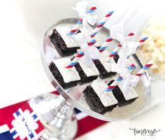 { Brownies med After Eight // Oppskrift } - ToneroseDesign After Eight, Brownies, Cake Brownies
