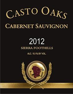 2012 Casto Oaks Cabernet Sauvignon 750 mL * Find out more about the great product at the image link.
