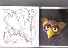 como hacer máscaras de papel