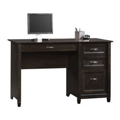 Sauder, Pedestal Desk, Antiqued Paint Finish, 408775 for sale at Walmart Canada. Shop and save Furniture online for less at Walmart.ca