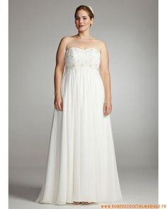 Une jolie robe de mari e pour femme ronde disponible for Concepteurs de robe de mariage australien en ligne