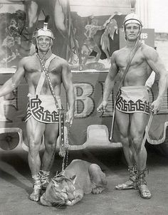 "Ed Fury (right) in ""Mighty Ursus"" (1962)"