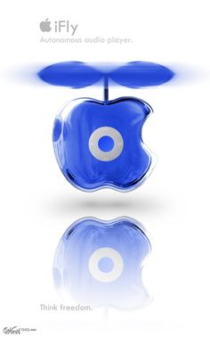 iFly Autonomous Audio Player by Tygerson 1st place entry in Apple's Next Product via @worth1000