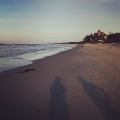 plaża o zachodzie słońca #Zdrowotel #Łeba