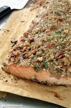 Garlic Salmon In Foil With Honey Mustard Cream Sauce Recipe Honey Garlic And Sauces