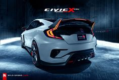 Honda Civic coupe concept gets Type R render