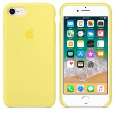 Beautiful and incredibly soft iPhone 8 / 7 Case in cute Lemonade color ; Iphone 8 Plus, Iphone 7 Plus Funda, Diy Iphone Case, Silicone Iphone Cases, Iphone Phone Cases, Apple Iphone, Telefon Apple, Telephone Iphone, Ipod Touch Cases