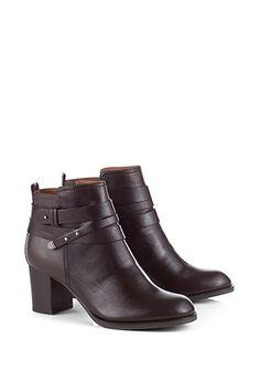 Esprit / Ankle boots + bride enroulée 89€