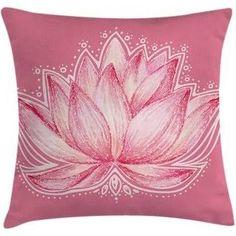 "Chakra Lotus Meditation Yoga Pillow Cover Ambesonne Size: 18"" x 18"""