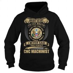 CNC Machinist - Job Title Special - #sleeve #fitted shirts. ORDER HERE => https://www.sunfrog.com/Jobs/CNC-Machinist--Job-Title-Special-Black-Hoodie.html?60505