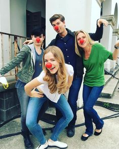 Bex Taylor Klaus, Willa Fitzgerald, Amadeus Serafini, and Tracy Middendorf