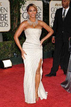 2009 beyonce, beyonce tapis rouge, beyonce red carpet, beyonce robe, beyonce look, beyonce golden globes awards, beyonce 2009