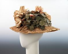 Hat Department Store: A. Giesen Importers Date: ca. 1905 Culture: French Medium: straw, silk, cotton Accession Number: 2009.300.1452