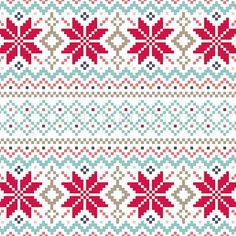 Christmas Fair Isle Knitting Pattern | Christmas fair isle inspiration