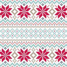 Christmas Fair Isle Knitting Pattern | Christmas fair isle inspiration