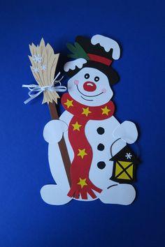 Fensterschmuck fensterbild winter weihnachten schneemann erwin 6 ein designerst ck von - Fensterschmuck weihnachten basteln ...
