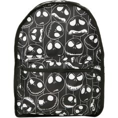 The Nightmare Before Christmas Jack & Sally Reversible Backpack | Hot... (16 AUD) ❤ liked on Polyvore