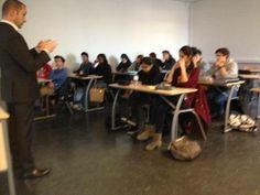 """Conférence """"Les métiers de la Gestion""""  À la rencontre de professionnels et de recruteurs !   Rencontre, organisée Par Kamel Ben Youssef, avec Franck Ferrari, PDG du Cabinet ALLIANCE PATRIMOINE   (Département GEA, Université Paris Ouest Nanterre La Défense, lundi 09 décembre 2013 (15h30/17h30)  Projet_Personnel _Professionnel_IUT_GEA   http://www.alliancepatrimoine.com"""