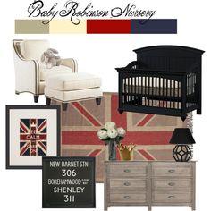 nursery, love the british idea!
