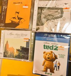 【本日フラゲ!②】 ⦿ADAM at /スウィートホーム ⦿Schroeder-Headz/特異点 After House Lounge ⦿TED2(Blu-ray+DVD)  今日は沢山! 『⦿』付いてるのは特典が付きます!