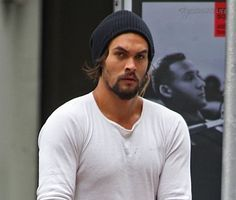 Jason Mamoa.  His last name just sounds like a tasty drink, doesn't it??