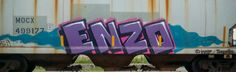 Trains tags , graffiti art