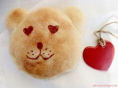 Pulcino Goloso: Orsetti di pasta di pane al miele di lavanda