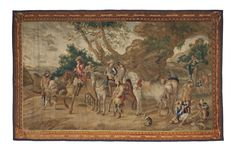 A SPANISH PASTORAL TAPESTRY | MADRID, CIRCA 1725, BY JAKOBO OR FRANCISCO VAN DER GOTEN | Christie's Wall Art Designs, Madrid, Medieval, Spanish, Tapestry, Painting, Van, Google Search, Art Walls