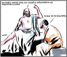 . Socrates (Inglés e Informática) ... El Roto .
