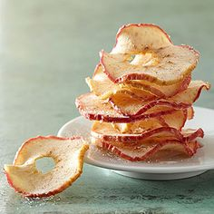 Sweet and Spicy Apple Crisps From Better Homes and Gardens, ideas and improvement projects for your home and garden plus recipes and entertaining ideas.