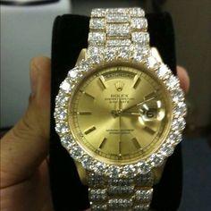 Diamond Rolex - Click pics for price <3