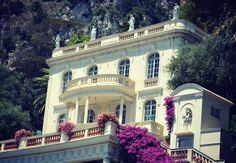 Villa Rothschild - French Riviera Mediterranean Houses, Ferrat, Celebrity Houses, French Riviera, Amalfi, Cannes, Villas, Places To See, Wanderlust