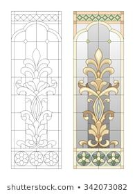 Stained glass window in the Baroque style Stained Glass Angel, Stained Glass Crafts, Faux Stained Glass, Stained Glass Designs, Stained Glass Patterns, Leaded Glass, Stained Glass Windows, Mosaic Glass, L'art Du Vitrail